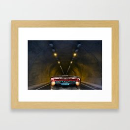 Electric car Framed Art Print