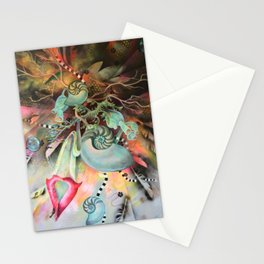 Cosmic Chandelier Stationery Cards
