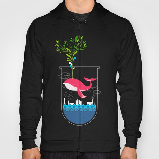 Nature Whale Hoody