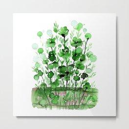 Floral Charm No.1J by Kathy Morton Stanion Metal Print