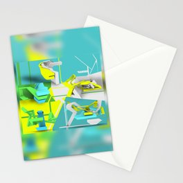PEACE Depth 3D  Stationery Cards
