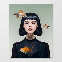 Goldfish Dreaming Canvas Print
