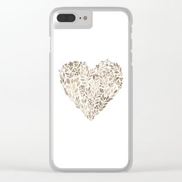 My Heart Will Go On Clear iPhone Case