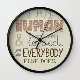 How Soon Is Now? Wall Clock