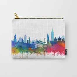 Venice Skyline Watercolor by Zouzounio Art Carry-All Pouch