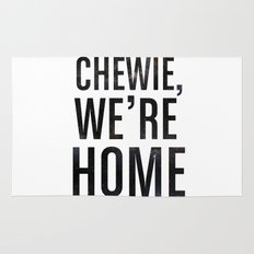 Chewie,We're Home - Galactic Rug