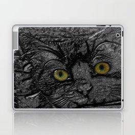 Metal cat Laptop & iPad Skin
