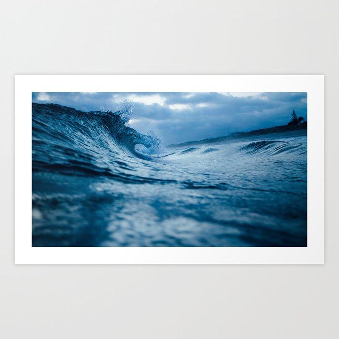 The Tide Always Comes Back Art Print