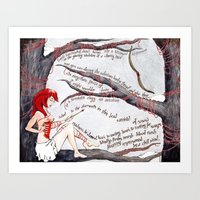 Take the Arrow from the Heart Art Print
