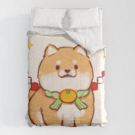 Cute Shiba Dog Comforters