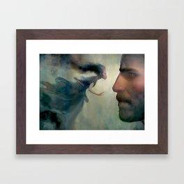 Kaladin and Syl Framed Art Print