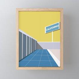 Ruscha Framed Mini Art Print