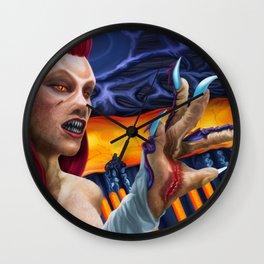 Wraith Queen Sally Wall Clock