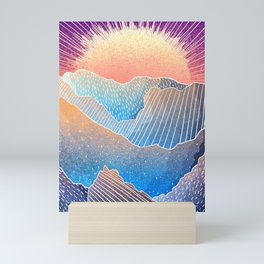 A new dawn awakens Mini Art Print