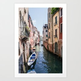 Wandering in Venice Art Print
