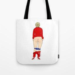 Clinton Butt Tote Bag