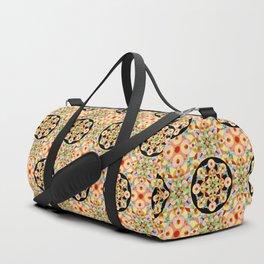 Groovy Carousel Pattern Duffle Bag