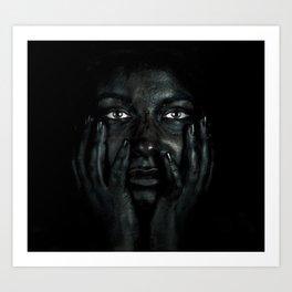 Black 03 Art Print