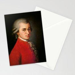 Wolfgang Amadeus Mozart (1756 -1791) by Barbara Krafft (1819) Stationery Cards
