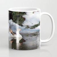 ducks Mugs featuring Ducks by OSCAR GBP