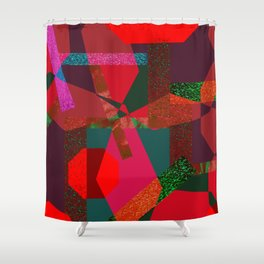 PARTY-COLORED Shower Curtain