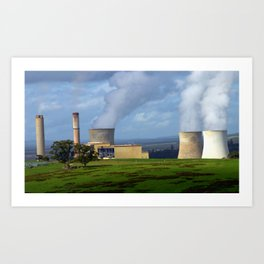Australia's major polluter, ignored by our Government! Art Print
