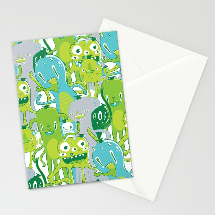 Done with Monster School! Stationery Cards