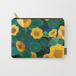 floral bear Carry-All Pouch