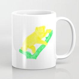 Bright Australian Native Wildlife - Yellow Koala Illustration Coffee Mug