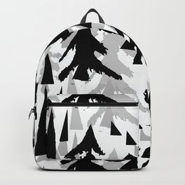 Pine Tree Shadows by Lorloves Design Backpack