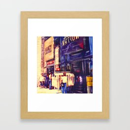 Melrose St, Los Angeles, CA #2  Framed Art Print
