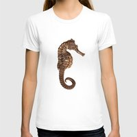 seahorse T-shirts featuring Seahorse by Julio O. Herrmann
