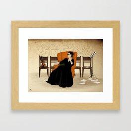 Umm Kulthum Framed Art Print