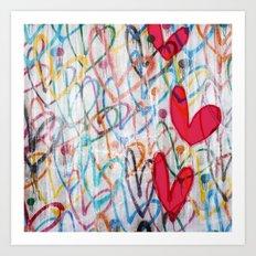 Oodles of Love Art Print