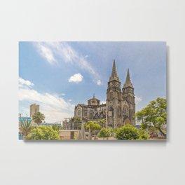 Metropolitan Cathedral Fortaleza Brazil Metal Print