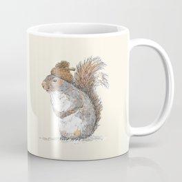 Squirrel with an Acorn Hat Coffee Mug