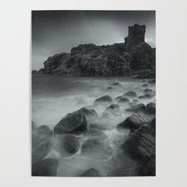 Kinbane Castle V Poster