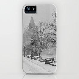 Toronto Flatiron Building in Winter iPhone Case