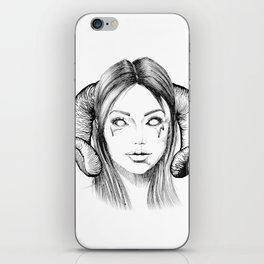 Demon Girl iPhone Skin