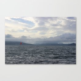 Wind Surfing Canvas Print