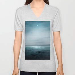 Sea Under Moonlight Unisex V-Neck