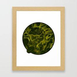 Golden Toad V.2 Framed Art Print