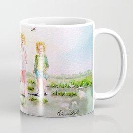 Kite in the Cornfield Coffee Mug