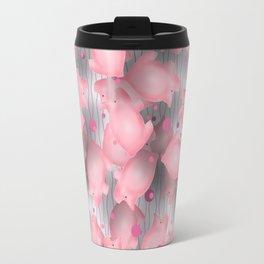 Pink Piggies Travel Mug