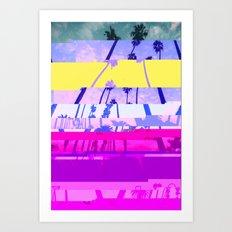 LosAngeles1 Art Print