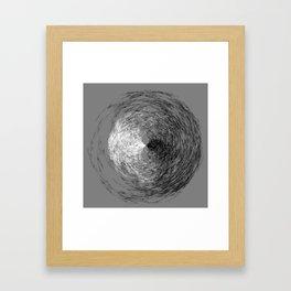 Swoop Framed Art Print