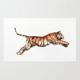Leaping Tiger Rug