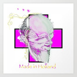 Made in Holland Art Print