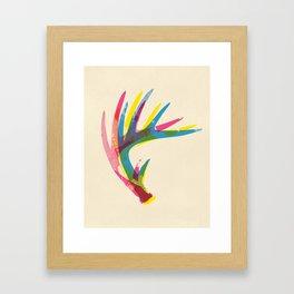 Antler Art Print Framed Art Print