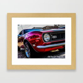 1969 Chevy SS Camaro Framed Art Print